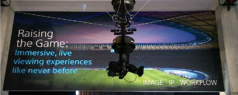 spidercam® dolly bei der IBC in Amsterdam